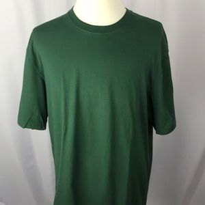 Duluth trading company long tail green t shirt L